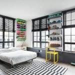 deco chambre ado style urbain. Black Bedroom Furniture Sets. Home Design Ideas