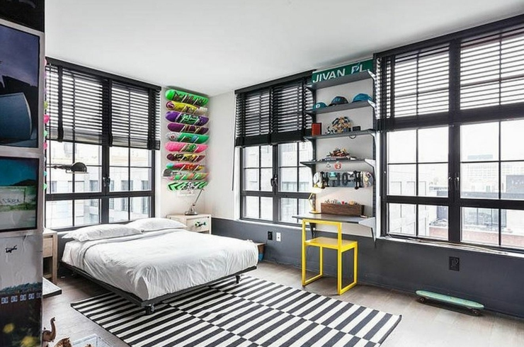 deco chambre ado style urbain - visuel #7