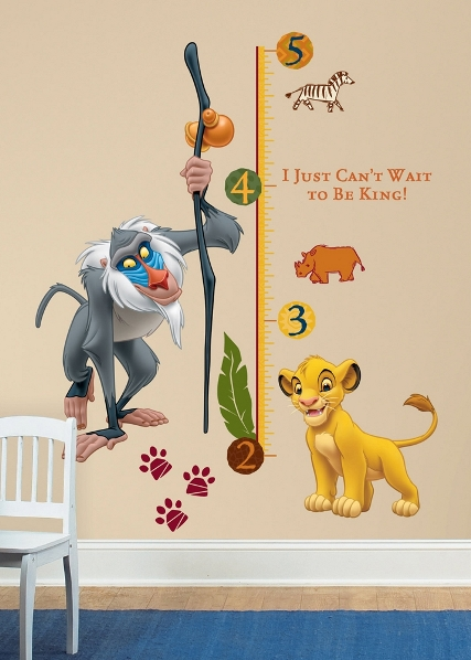 deco chambre bebe le roi lion visuel 7. Black Bedroom Furniture Sets. Home Design Ideas