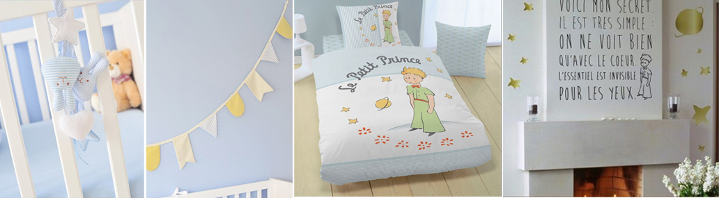 Deco chambre bebe petit prince for Chambre bebe petite surface