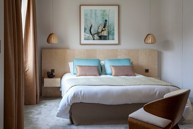 Best Chambre Turquoise Et Beige Contemporary - House Design ...
