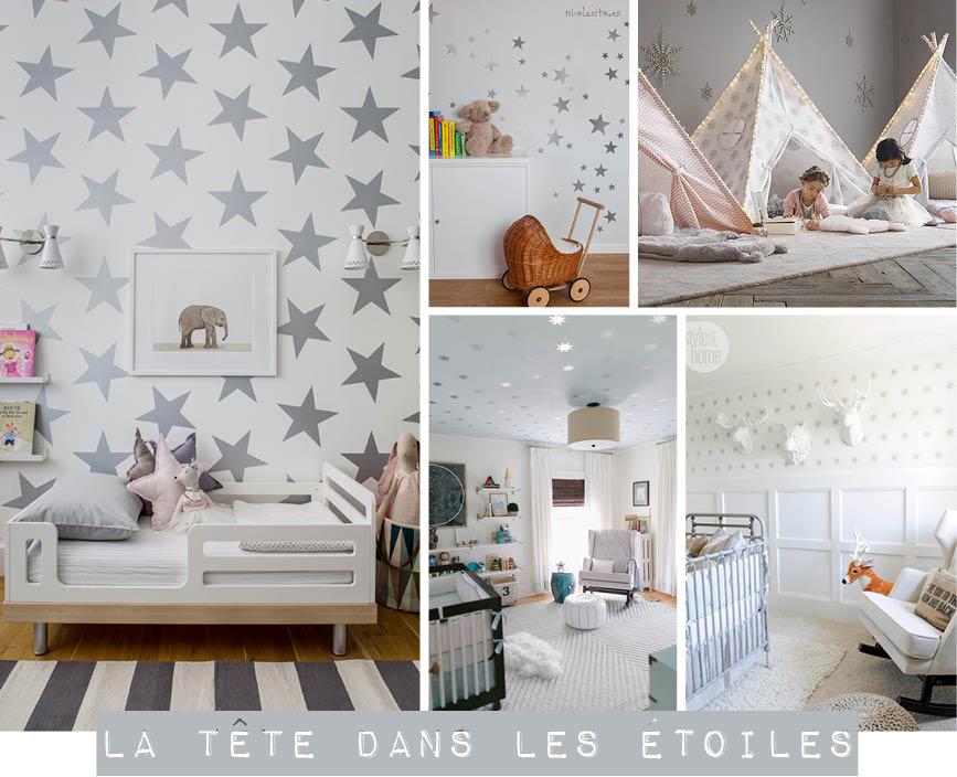 Deco chambre etoiles visuel 7 - Etoiles fluorescentes plafond chambre ...