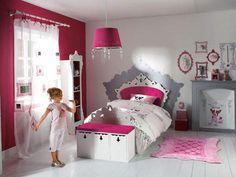 Beautiful Chambre Grise Et Fushia Contemporary - Design Trends ...