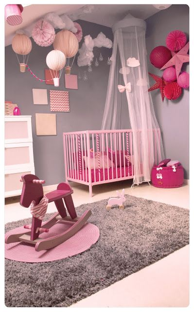 deco chambre fille girly