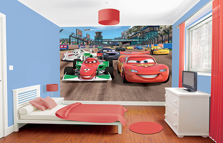 deco chambre garcon cars disney. Black Bedroom Furniture Sets. Home Design Ideas
