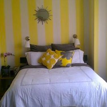 deco chambre jaune et blanc - visuel #4
