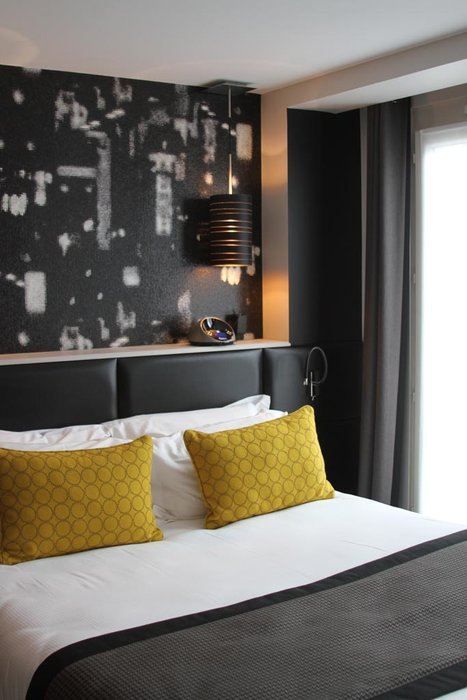 Awesome Deco Chambre Jaune Et Blanc Pictures - Matkin.info ...