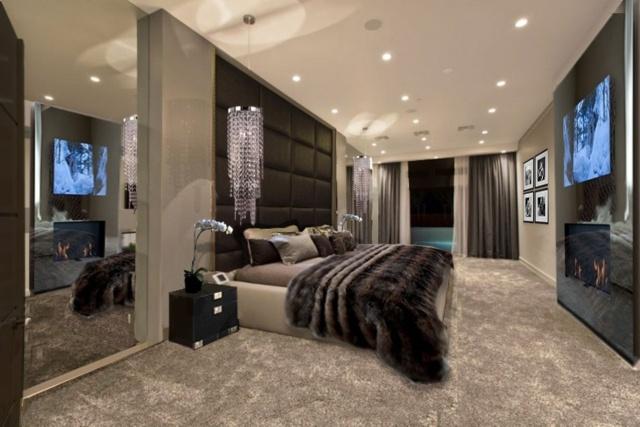 Chambre A Coucher De Luxe Moderne. Interesting Chambre Chambre ...