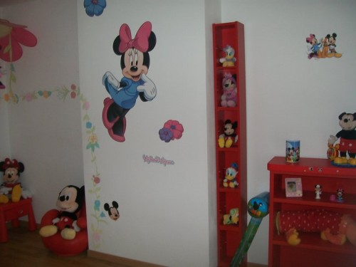Deco chambre minnie - Decoration mickey chambre ...