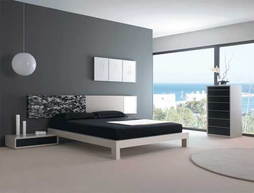 Stunning Decoration Chambre Moderne Noirblanc Images - lalawgroup ...