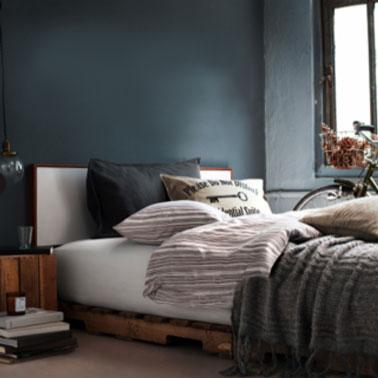 Deco chambre palette visuel 2 for Chambre en palette
