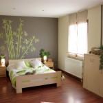 Deco chambre vert et marron for Chambre a coucher marron et vert