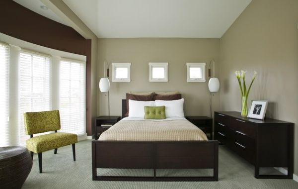 Stunning decoration chambre vert et marron ideas design trends