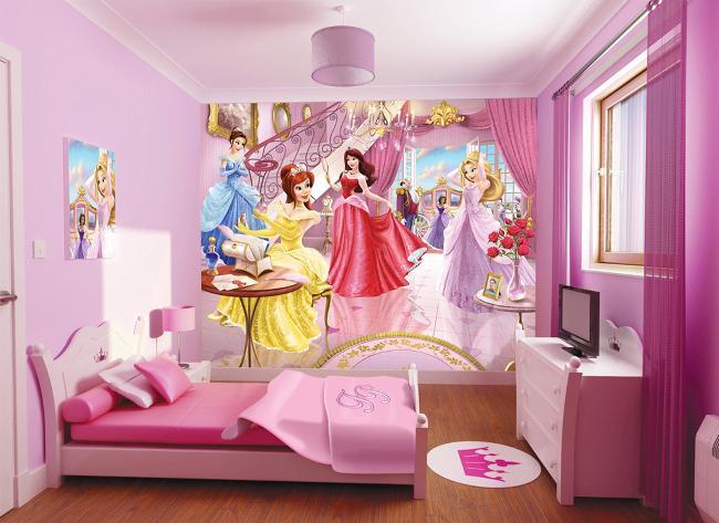 Deco De Chambre Princesse Disney Visuel 5