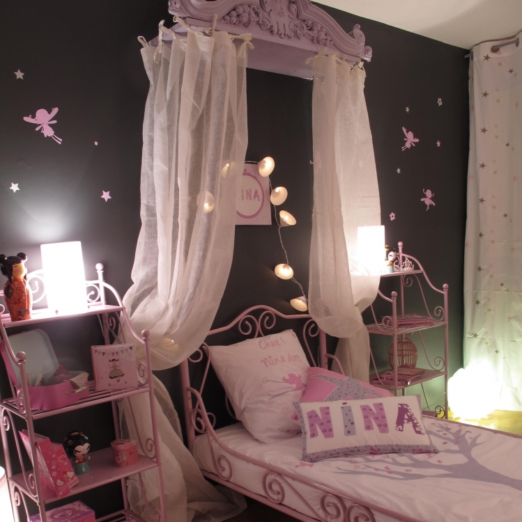 Awesome Deco Chambre Argent Et Rose Contemporary   House Design .