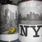 deco de table new york a faire soi meme