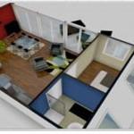 decoration chambre 3d gratuit