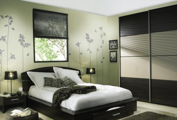 decoration chambre a coucher moderne - visuel #1