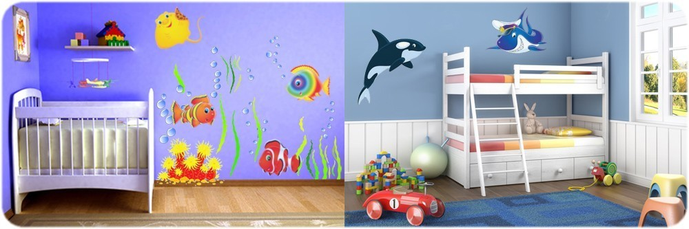 Decoration chambre bebe ocean for Decoration chambre ocean