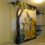 decoration chambre bebe roi lion. Black Bedroom Furniture Sets. Home Design Ideas