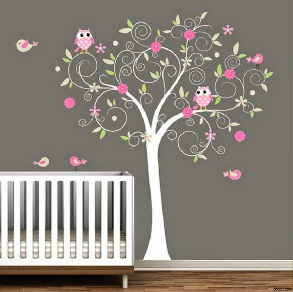 Decoration chambre bebe theme hibou for Decoration de chambre pour bebe