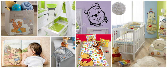 decoration chambre bebe winnie l ourson - visuel #3