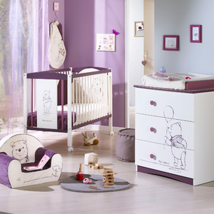 Decoration chambre bebe winnie l ourson - Chambre winnie l ourson pour bebe ...