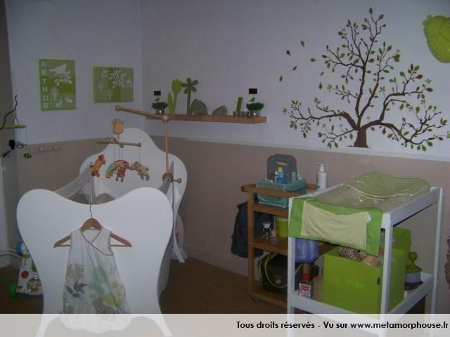 Decoration peinture chambre bebe id e for Decoration murale bebe
