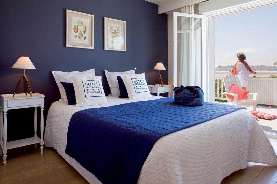 Decoration Chambre En Bleu Et Blanc U2013 Visuel #1