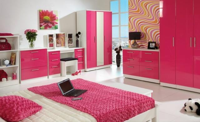 decoration chambre fille rose - visuel #6