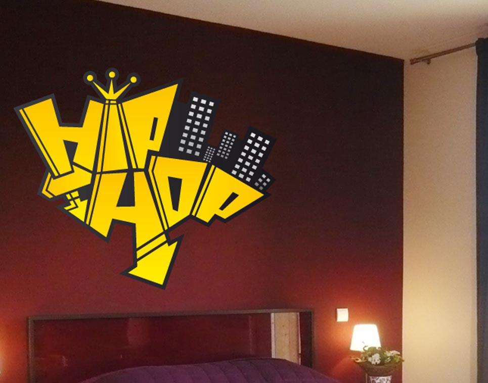 Chambre Fille Hip Hop : Decoration chambre hip hop visuel