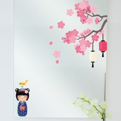 Decoration chambre kokeshi for Decoration chambre kokeshi