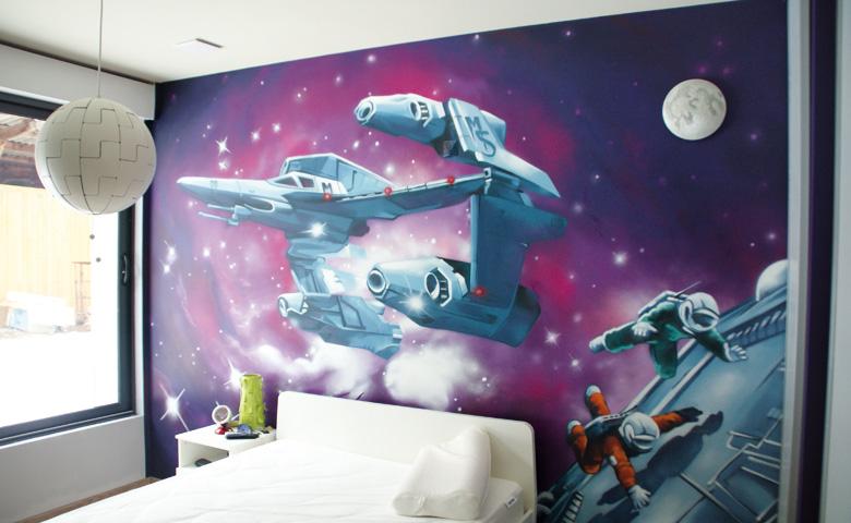 decoration chambre theme espace