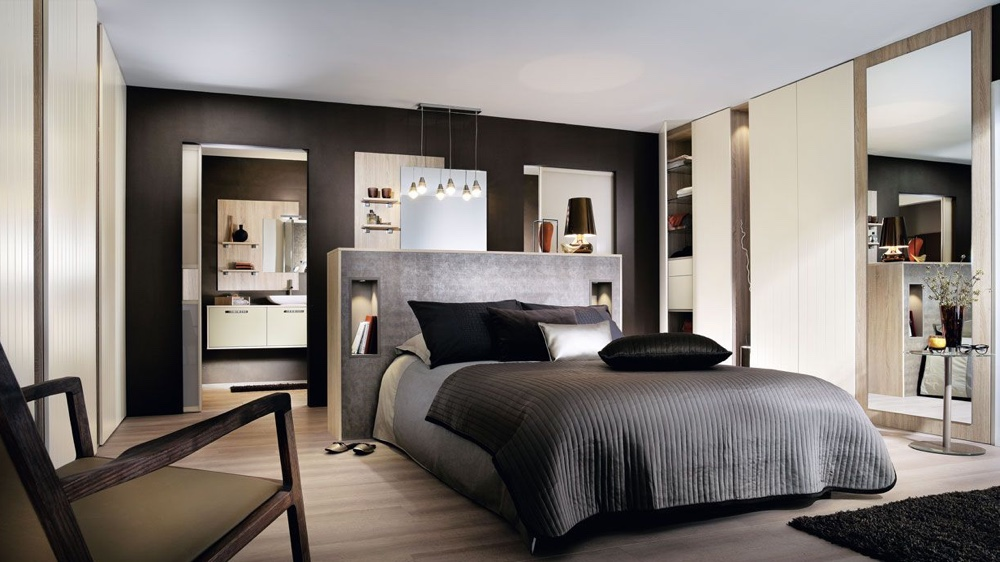 decoration de chambre de couple. Black Bedroom Furniture Sets. Home Design Ideas