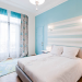 decoration de chambre en bleu