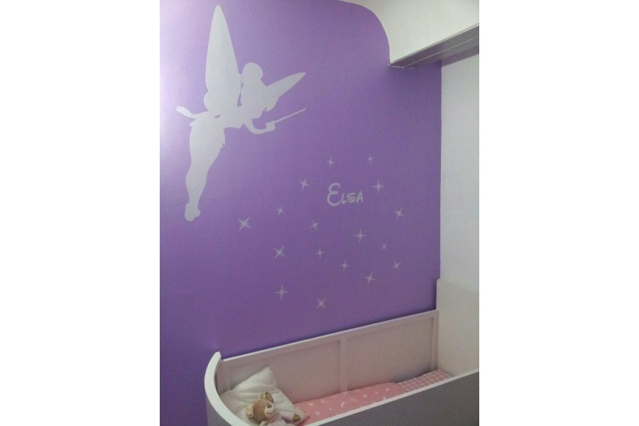 Deco chambre fee 213738 la meilleure for Decoration chambre la fee clochette