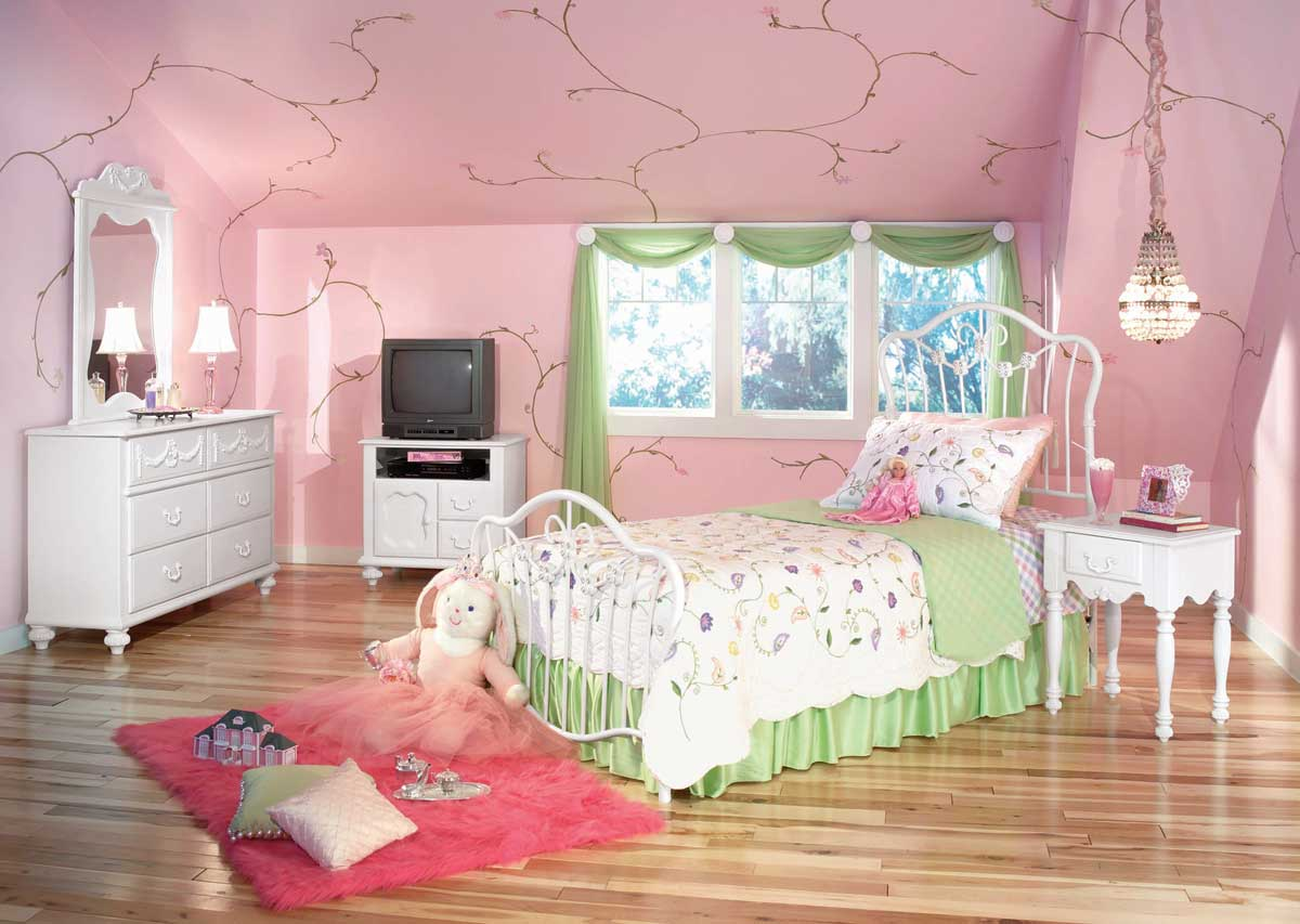 decoration de chambre pour fille. Black Bedroom Furniture Sets. Home Design Ideas