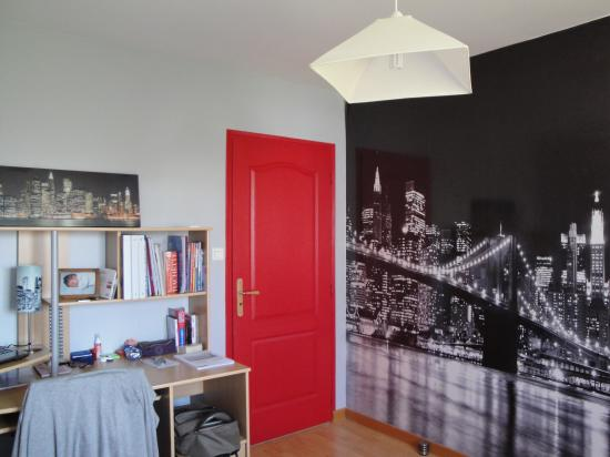 Stunning Idee Deco Chambre Ado Fille Theme New York Gallery - Design ...