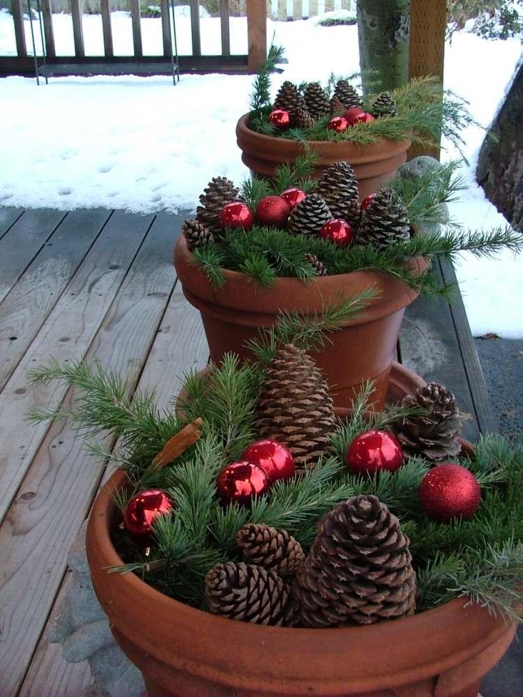 Ordinary Deco De Noel Exterieur A Faire Soi Meme 13 Decoration De Noel  A
