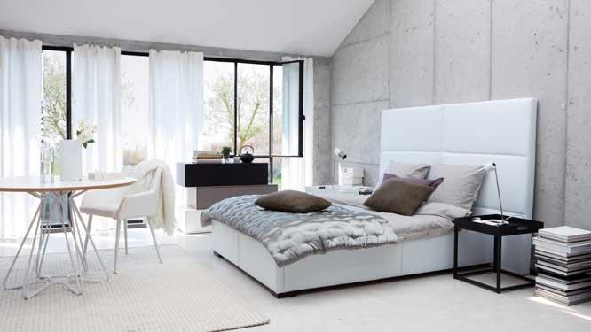 decoration pour chambre gris et blanc
