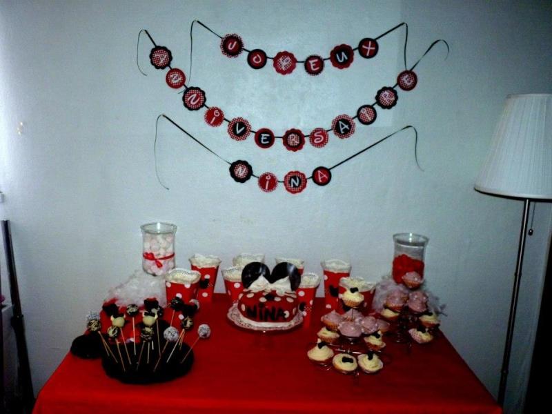Fabriquer deco anniversaire mickey visuel 4 - Decoration de table anniversaire a faire soi meme ...