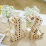 faire decoration de table mariage