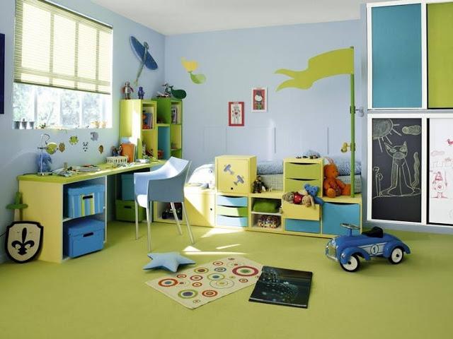 idee deco chambre garcon 6 ans - visuel #7