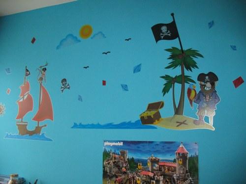 idee deco chambre garcon pirate