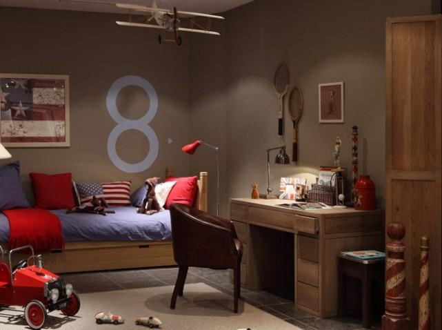 Chambre Enfant 10 Ans. Idee Chambre Garcon 10 Ans Couleur Bleu ...