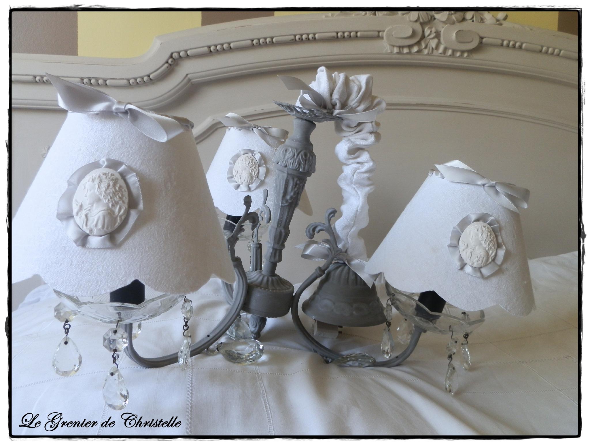 Luminaire pour chambre romantique - Lustre pour chambre ...