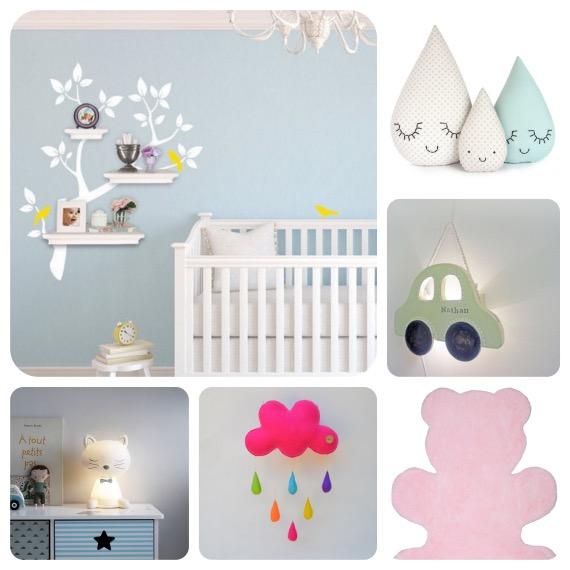 objet deco pour chambre de bebe visuel 8