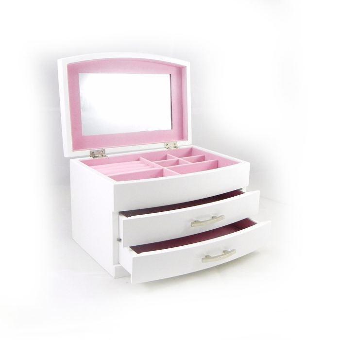 boite a bijoux blanc visuel 2. Black Bedroom Furniture Sets. Home Design Ideas