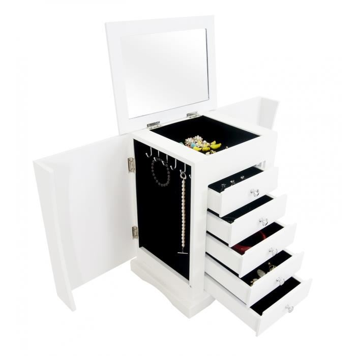 miroir avec rangement bijoux boite a bijoux design u. Black Bedroom Furniture Sets. Home Design Ideas