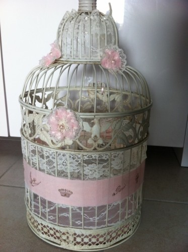 cage oiseau decorative mariage. Black Bedroom Furniture Sets. Home Design Ideas
